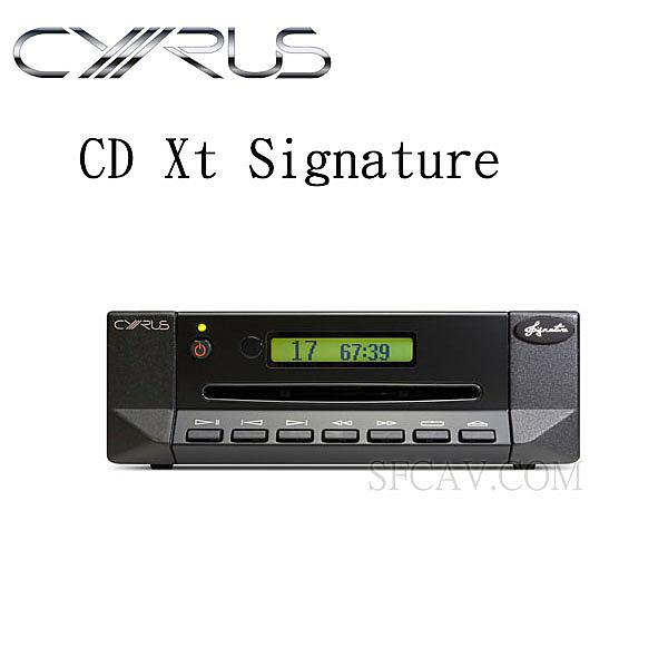 【勝豐群新竹音響】CYRUS CD Xt  Signature 旗艦級雷射轉盤