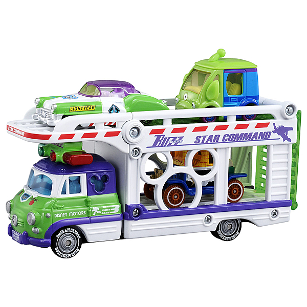 【震撼精品百貨】多美_TOMICA~Dream TOMICA 迪士尼玩具總動員-巴斯運輸車/拖車(不含小車)#13472