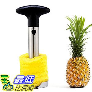 [106美國直購] Stainless Steel Pineapple Slicer Peeler Kitchen Cutter Tool鳳梨高手切鳳梨器