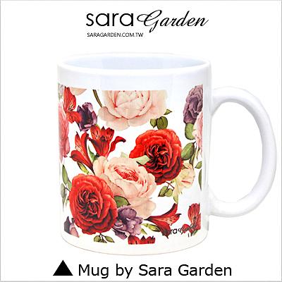 客製 手作 彩繪 馬克杯 Mug 手繪 水彩 質感 玫瑰花 碎花 咖啡杯 陶瓷杯 杯子 杯具 牛奶杯 茶杯