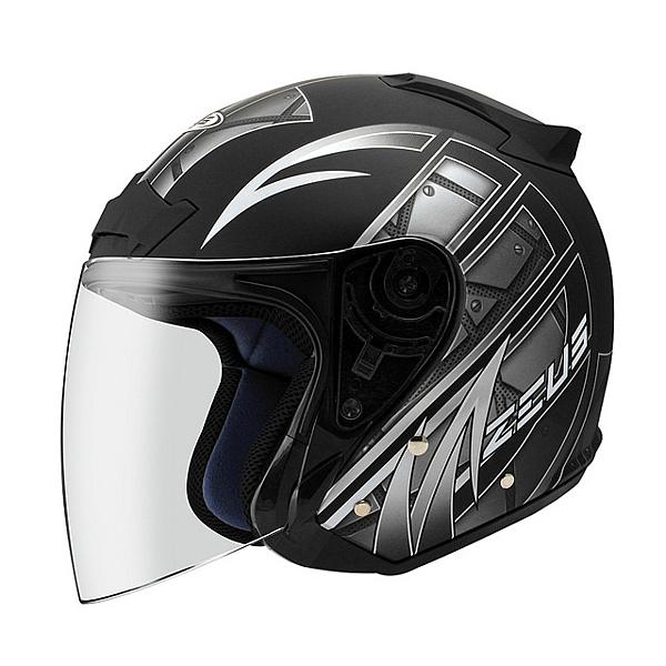 ZEUS 瑞獅安全帽 ZS-609 黑銀