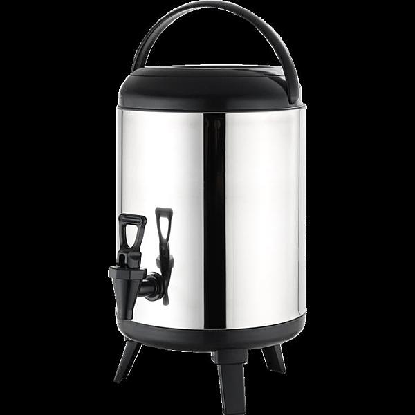 商用大容量保溫保冷豆漿果汁咖啡飲料奶茶店不銹鋼奶茶桶8L10L12L 亞斯藍