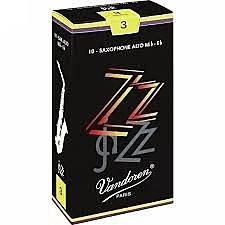 凱傑樂器 Vandoren ZZ Alto Reeds SAX 黑盒 中音竹片 2號半