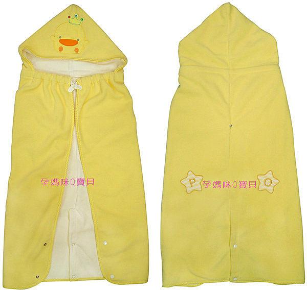 黃色小鴨保暖多功能揹巾被(保暖多功能毯)~秋冬適用81482