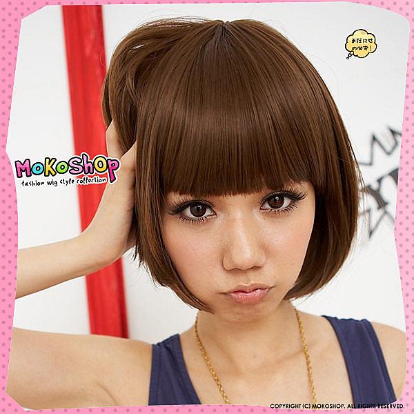 想要一個不一樣的髮型但是好多髮型都想嘗試怎麼辦 ?百變假髮讓你天天都有不同造型喔!