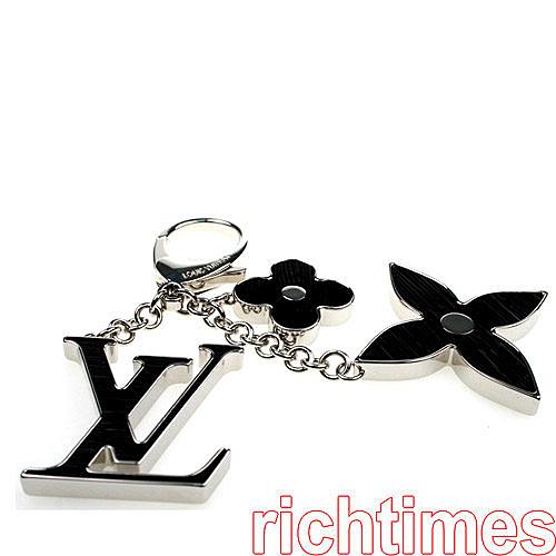 LV花朵鑰匙圈(黑)LV4A4227
