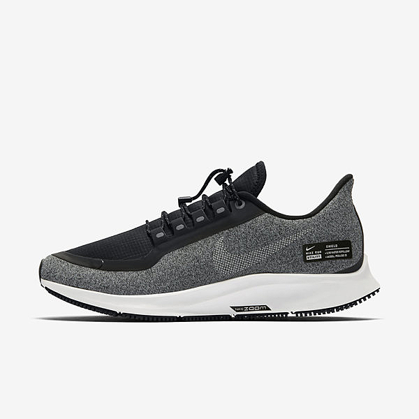 Nike W Air Zoom Pegasus 35 RN SHLD AA1644-002 女鞋 運動 跑步 緩震 黑灰