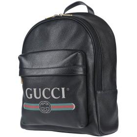 《セール開催中》GUCCI メンズ バックパック&ヒップバッグ ブラック 革