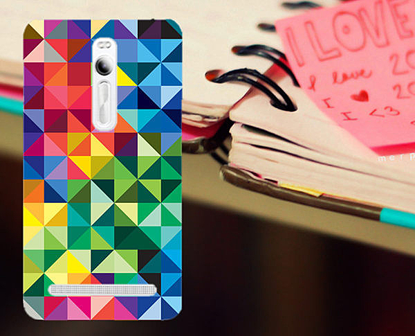 ♥ 俏魔女美人館 ♥ ASUS 華碩5.5吋 Zenfone 2 /ZE551ML {神秘色彩*水晶硬殼} 手機殼 手機套 保護殼