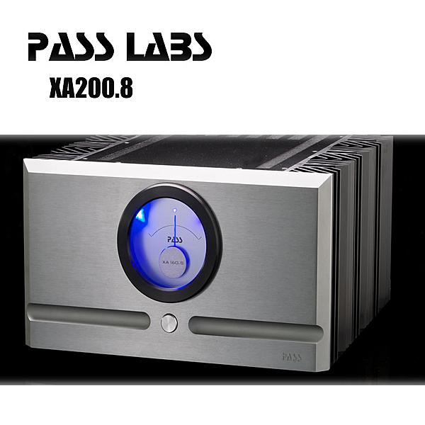 【新竹勝豐群音響】PASS XA200.8單聲道後級擴大機 史上最強驅動怪獸!XS300