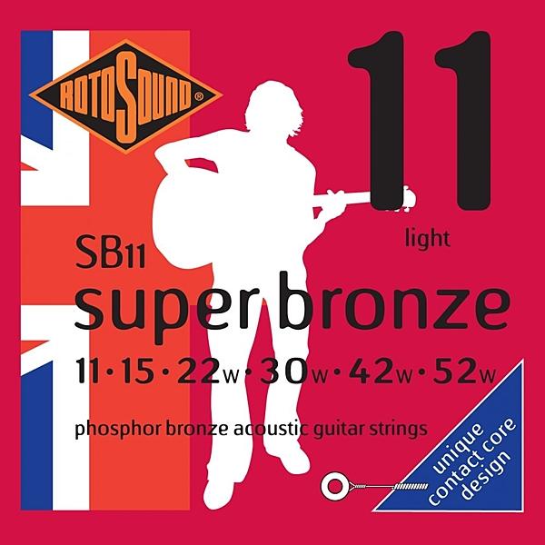 小叮噹的店 英國ROTOSOUND SB11 (11-52) 鋼琴磷青銅 木吉他弦 旋弦公司貨