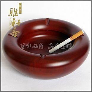 紅木煙灰缸**大號18公分