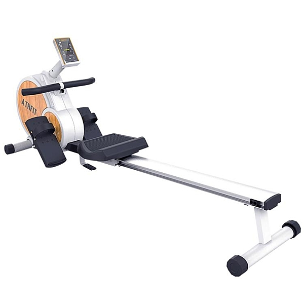 劃船機家用磁控折疊紙牌屋健身器材智能靜音劃船器 qf26981【MG大尺碼】