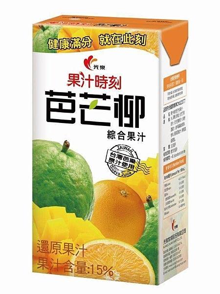 【免運直送】光泉果汁時刻芭芒柳汁-鋁箔包300ml(24入/箱)*2箱【合迷雅好物超級商城】