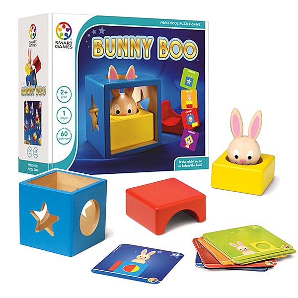【比利時 SMART GAMES 桌遊】兔寶寶魔術箱 ACT06299