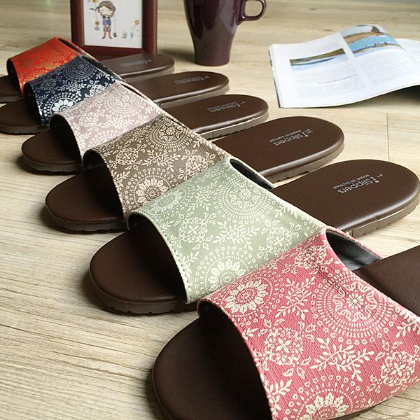 台灣製造-經典系列-室內拖鞋-橡膠鞋底皮拖 - 光年-超值6雙組