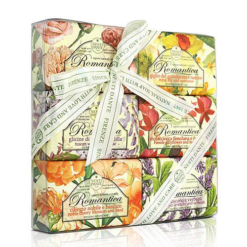 Nesti Dante  義大利手工皂-愛浪漫 生活風禮盒(150g×6入) 【ZZshopping購物網】