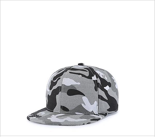 FIND 韓國品牌棒球帽 男女情侶 街頭潮流 灰色迷彩 歐美風 嘻哈帽  街舞帽