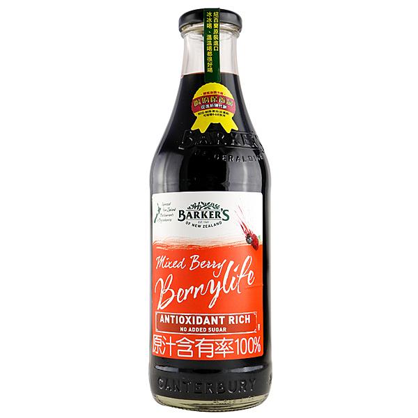 綜合莓果果汁- 710ml/瓶