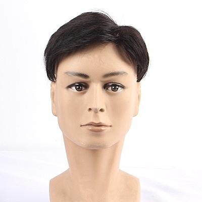 假髮片(真髮絲)-三七分隱形補髮無痕男假髮73uf38【時尚巴黎】