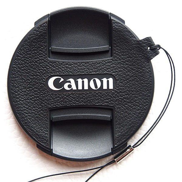 (BEAGLE) 真皮相機專用鏡頭蓋防丟蒙皮貼 CANON E58II/E72II/E77II/E82II 頭蓋貼 鏡頭蓋防丟繩-鏡頭蓋專用