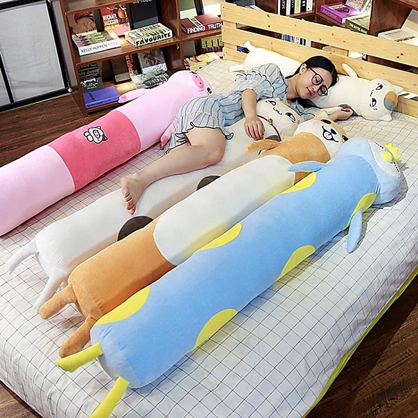 可愛長條枕抱枕睡覺枕頭可拆洗圓柱女孕婦男床頭雙人靠枕靠墊夾腿 滿天星