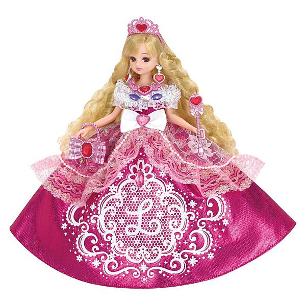 LICCA 莉卡娃娃 亮粉公主莉卡