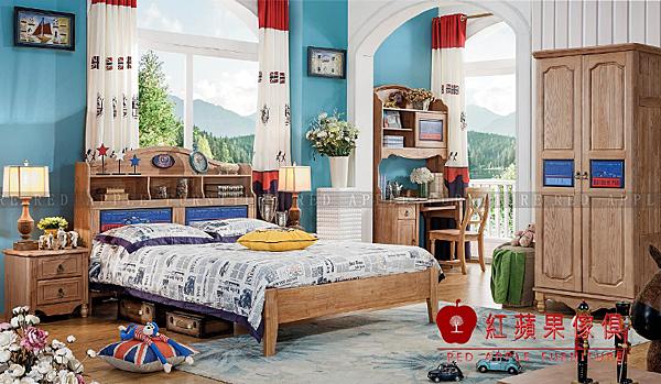 [ 紅蘋果傢俱 ] LM-T020 湯米迪克系列 兒童床 床架 床組 數千坪展示