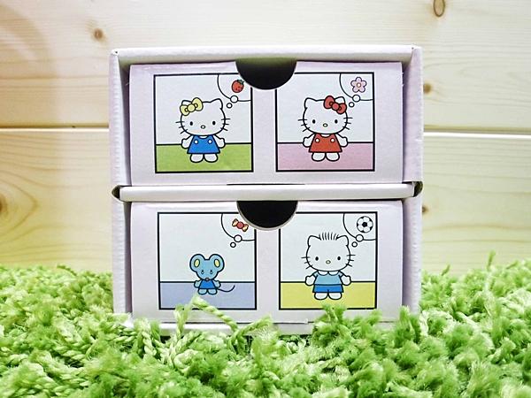 【震撼精品百貨】Hello Kitty 凱蒂貓~便條附盒~九宮格【共1款】