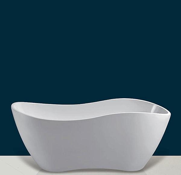 【麗室衛浴】國產 B40676   壓克力獨立造型缸 160*76*63CM 新款上市