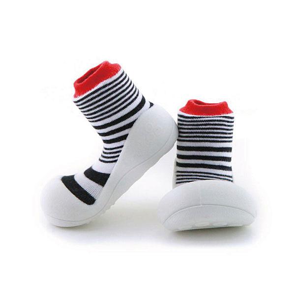 韓國 Attipas 快樂腳襪型學步鞋-濃情火焰