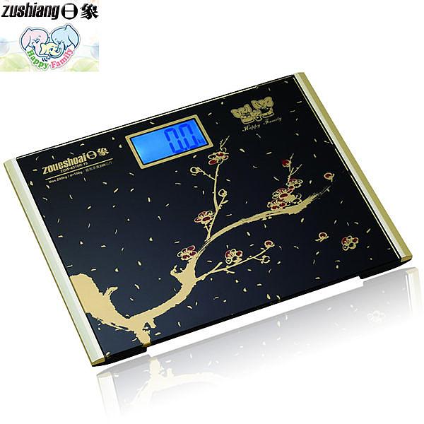 日象 ZOW-8310R-15 星夜寒梅電子體重計 1入