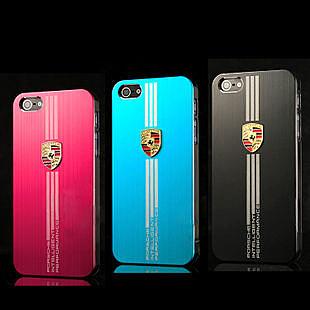 5S iphone 5/5S 碼牌時尚手機殼 蘋果5代名車系列跑車保護套手機殼( 任選二件$900)