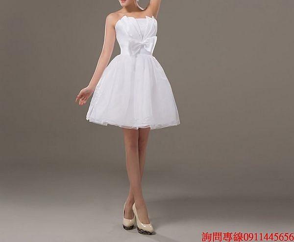 (45 Design) 訂做款式7天到貨 專業訂製款 大尺碼  小禮服 演奏會婚紗禮服 表演 走秀 主持訂婚