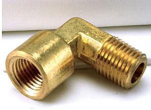 水電材料 水栓 模具 銅接頭 彎頭 1/8 PT內牙*1/4 PT外牙