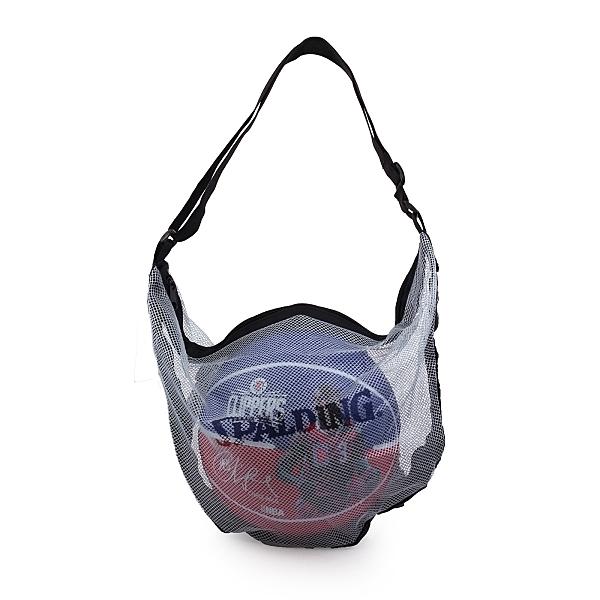 SPALDING 單顆裝網袋銀藍 (收納袋 瓢蟲袋 籃球袋 斯伯丁 免運≡排汗專家≡