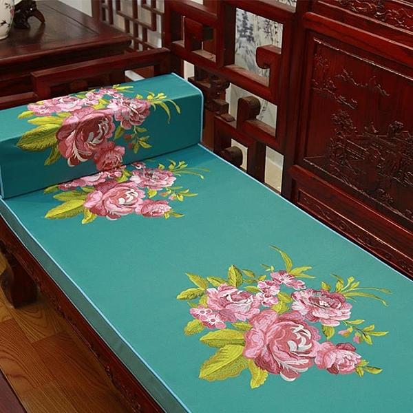 [超豐國際]紅木實木沙發家具坐墊椅子新中式沙發套現代餐椅加厚