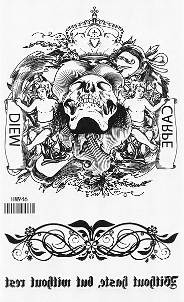 薇嘉雅   紋身貼紙 HM946