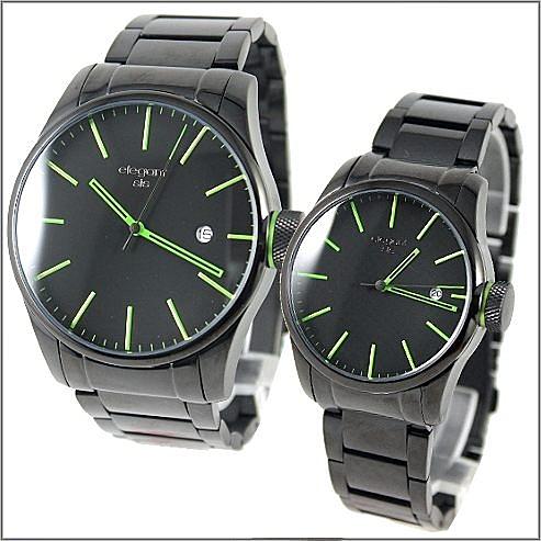 【萬年鐘錶】elegant 經典 時尚對錶 ELJT40-ELJT41-VG05MA