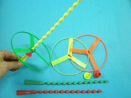 飛上天 螺旋竹蜻蜓童玩 /一包12組入(#10)