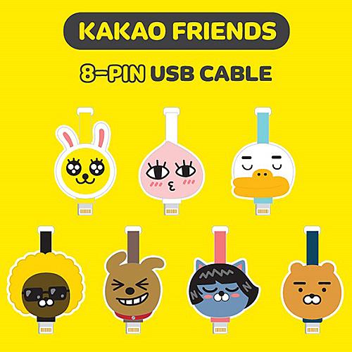 TOUCH-KR 正韓 Kakao Friends 充電線 傳輸線│蘋果 8 pin / Micro 5 Pin│z6980