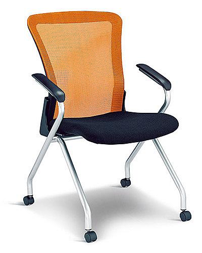 [ 家事達]OA-333-4 網布翻折會議椅  特價 洽談椅 辦公椅 電腦椅
