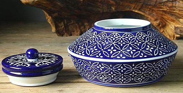 【協貿國際】現代中式家居飾品擺件青花陶瓷