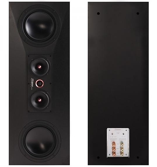 《名展影音》Starke Sound Halo series -IC-H7 高音質喇叭 (霧面黑)