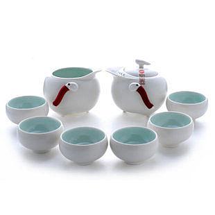 定窯玄禪8入陶瓷茶具