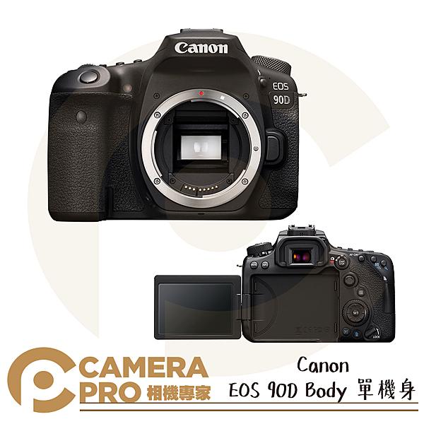 ◎相機專家◎ 開春好禮 Canon EOS 90D Body 單機身 4K 錄影 高速連拍 單眼相機 公司貨