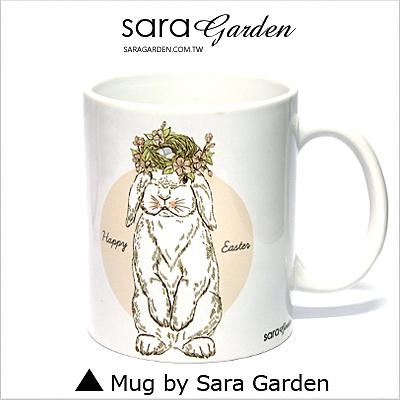 客製化 陶瓷 馬克杯 咖啡杯 蘋果桂冠兔兔