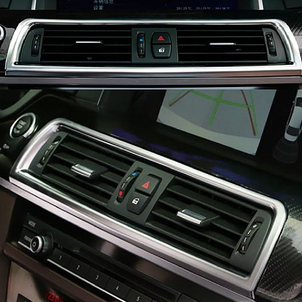 BMW 5系列 中央出風口裝飾大框 裝飾貼 523 520 528 F10 貼紙 車身貼 寶馬 沂軒精品 A0338