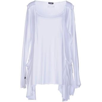 《セール開催中》BLAUER レディース T シャツ ホワイト L コットン 50% / レーヨン 50%