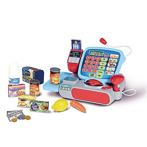 《 英國 CASDON 家電玩具 》超市收銀機╭★ JOYBUS玩具百貨
